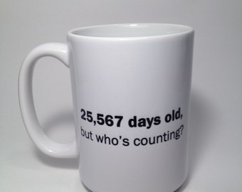 Custom Birthday Coffee Mug