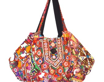 Banjara Hobo Bag - Indian Gypsy Tribal Embroidery