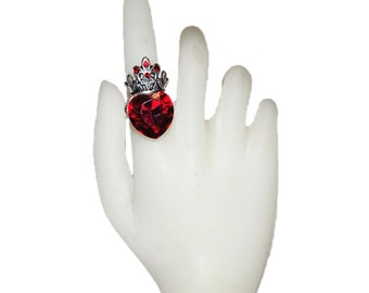 Queen of Hearts Ring