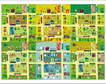 KIDS Maps ITALY Map For Kids Childrens Maps Childrens Map - Wall map children's room