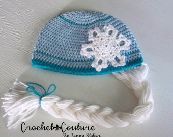 Free Crochet Pattern Frozen Elsa Hat : FROZEN Inspired