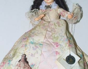 """Abigail Smith Adams Doll by Brinn's 1987 16"""""""