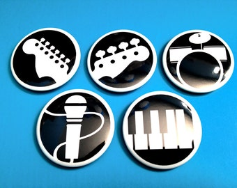 Rock Band Instrument Buttons