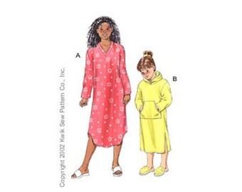 Sewing Pattern - Girls Pattern, Gowns Pattern, Kwik Sew #K3102