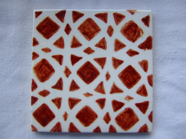 Tile b5 dipinte a mano piastrelle marocchine di terethsheba