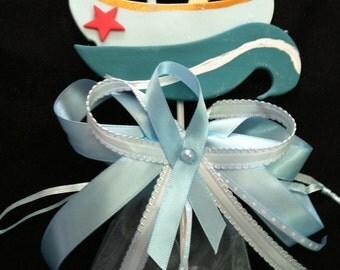 Nautical Favors Nautical Cake Topper Sailor Baby Boy