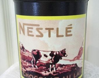 Vintage Nestle Chocolate Tin 1988