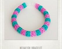 Hexafish Rainbow Loom Bracelet Party Favors