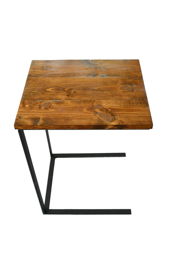 Tray Table - Laptop Desk - Side Table - Night Stand - Reclaimed Wood ...
