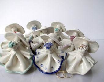 WEDDING GUEST GIFT- set of 20, Wedding favor gift, wedding gift, wedding guest gift, ceramic unique sculpture, ceramic figurines