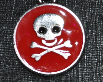 SALE! Skull and Crossbones Pendant