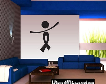 Ribbons Vinyl Wall Decal Or Car Sticker - Mvd016ET