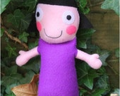 Doll inspired by Dolly/Nanny Plum from Ben & Holly Little Kingdom