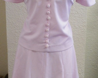 New With Tags. Vintage 1960's never worn Nardis of Dallas shirt and skirt set. Medium to Large.