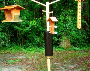 Bird feeder pole and bird feeder combinations - save up to 80 dollars with our best bird attracting bird feeders and bird feeder pole combos