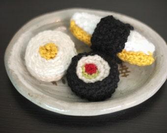 Amigurumi Sushi Cat : Amigurumi sushi Etsy