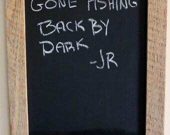 Reclaimed Barnwood Chalkboard