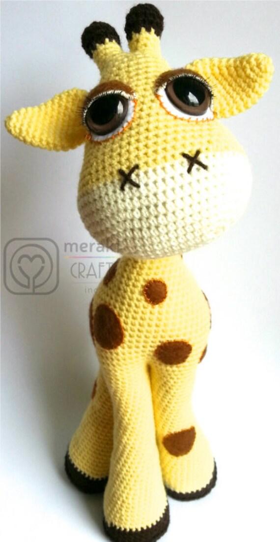Amigurumi Giraffe : Flick the Giraffe Amigurumi
