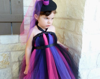 Witch Tutu Dress with Witch's Hat Headband, Witch Dress, Witch Costume, Toddler Costume, Halloween, Kids Costumes