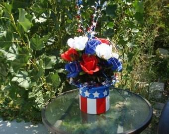 Patriotic Uncle Sam Hat Centerpiece