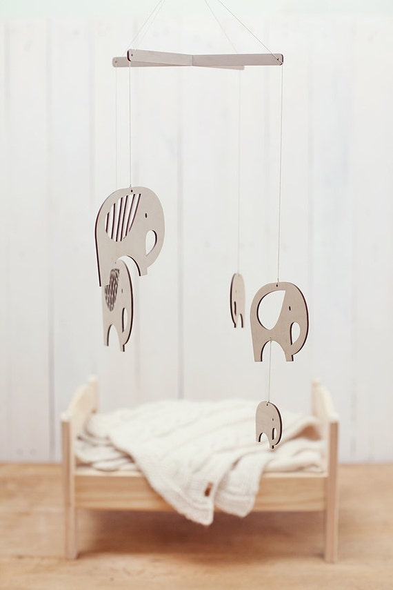 Wooden Baby Mobile by Gera Bloga