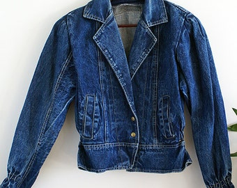 Vintage Women's Denim Jacket / Jean Jacket