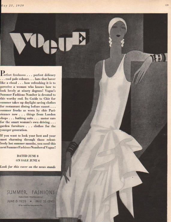 Items similar to three for four art deco era fashion print for Art deco era clothing