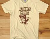 DONKEY KONG Arcade T-Shirt - nintendo dk tee retro 80s nes 8 bit logo S M L XL 2X