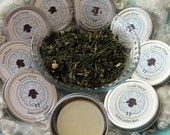 Lotion Bar - Green Tea - Lanolin Lotion Bar - Hand Lotion - Solid Lotion - Natural Lotion - Natural Beauty - Massage Bar - Body Balm - Gift