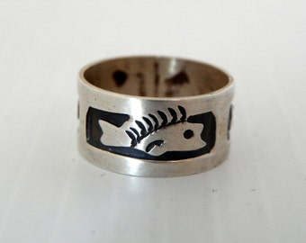 Taxco Sterling Silver  Band