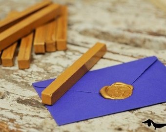 Gold sealing wax bar