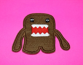Iron on Sew on Patch:  Domo