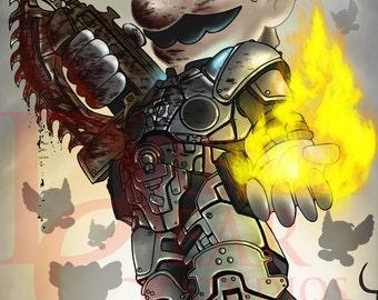 Mario Gears of War
