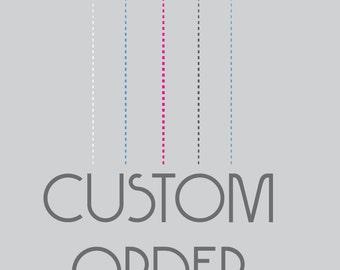 Custom order for susan single cross repurposed clothing quilt for Single order custom t shirts