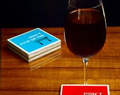 Don't F**k the table Coasters