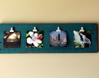Turqoise Pallet Display Board - Great for Instagram photos!