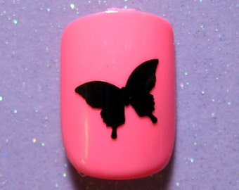Butterfly nail art decals stickers
