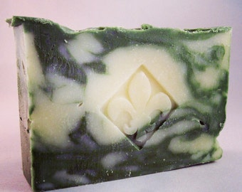 Bamboo Forest - Handcrafted soap made with hemp oil from South Compton Soap Company