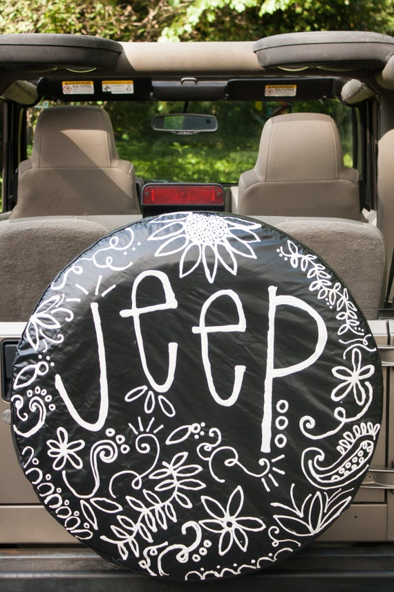 Custom Jeep Wheel Cover