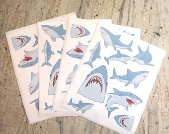 Shark Sticker Sheet Pack