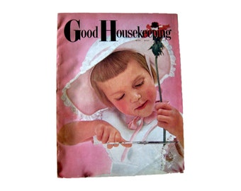 Good Housekeeping Magazine May 1957 / Home Decor / Retro Kitchen / Vintage Fashion / Fashion Magazine