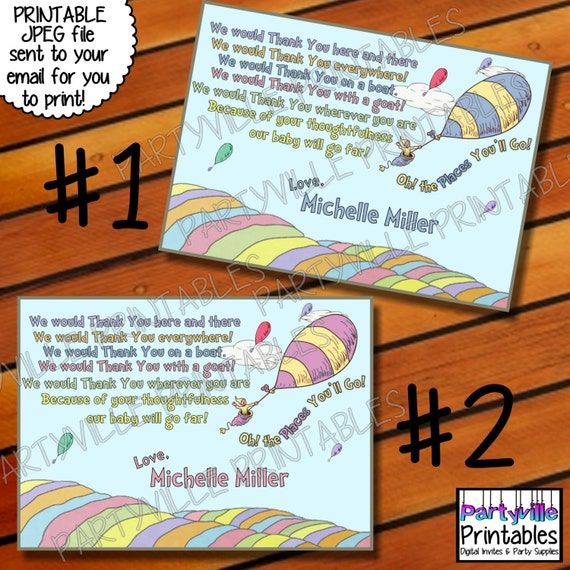 Dr Seuss Baby Shower Invites for best invitations example