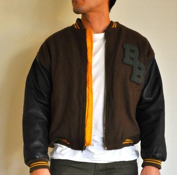 Letterman Jacket Vintage 60