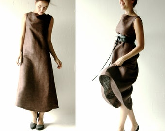 Tunic dress, Silk dress, Medieval tunic, Shift, designer dress, Silk tunic, Long dress, Maxi dress, Aline dress, Formal dress,