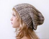 Slouchy Beanie Pattern, Knitting PATTERN, Knit Hat Pattern, Hat Patterns, Slouchy Hat Pattern, Slouch Hat Pattern, Slouch Beanie Pattern
