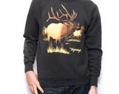 MONTANA vintage sweatshirt ELK deer outback 90s MEN'S vintage