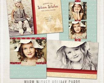 Warm Wishes Christmas Cards -  Millers Lab & WHCC 5x7