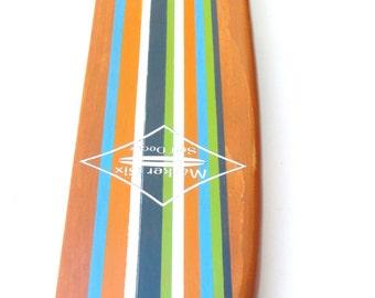 Surfboard Shelf Classic Stripe Longboard