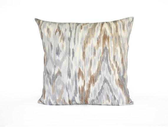 Decorative Pillows With Grey : SALE Grey And Brown Pillow. Decorative Pillow Cover. Taupe