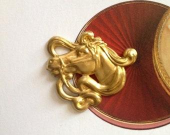 Old Strike Art Nouveau Horse 2 sizes (1 pc )